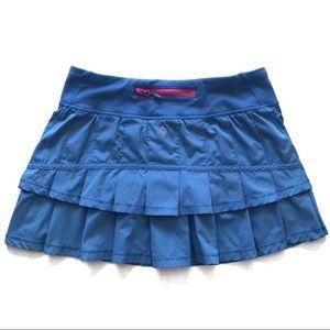 Ivivva Set The Pace Skirt Blue Size 12 (Girls)